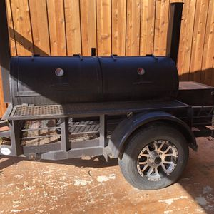 Bbq Grill Pit Smoker Trailer for Sale in Mansfield, TX