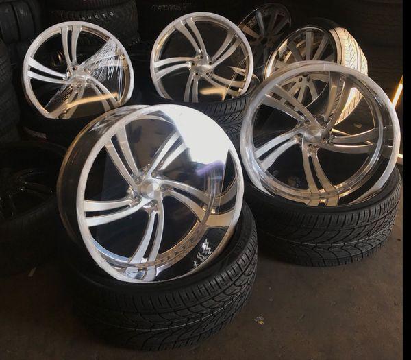 Race Line Charger Wheels/ Billet Wheels For Sale In Fresno
