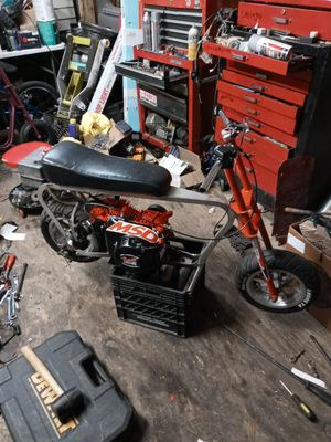 Abi customs mini MSD track racing bike ALL CUSTOM BILLET FRAME for Sale in Chicago, IL