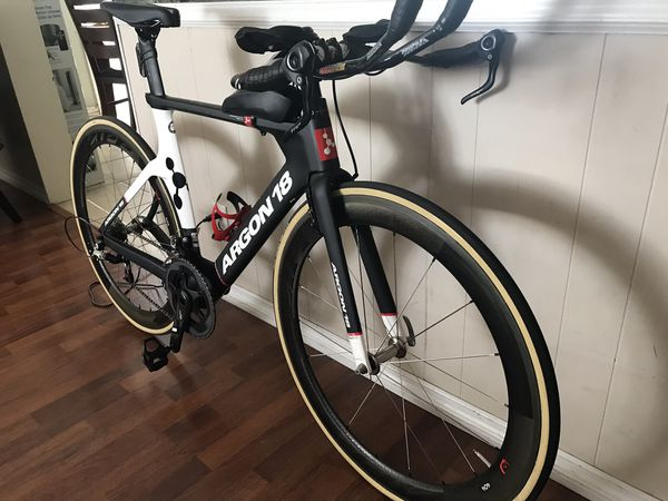 Triathlon Bike Argon 18 E-116 ( No wheels) for Sale in Orange, CA - OfferUp