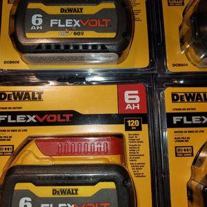 DEWALT FLEX VOLT 6AH for Sale in Turlock, CA