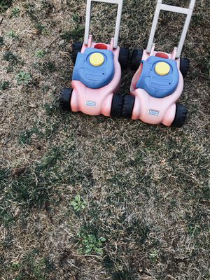 Little tikes lawn mowers for Sale in Fort Lee, NJ