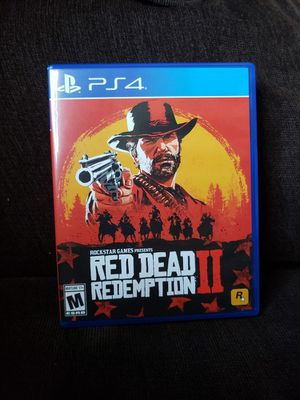 Red Dead Redemption 2 PS4 for Sale in Durham, NC
