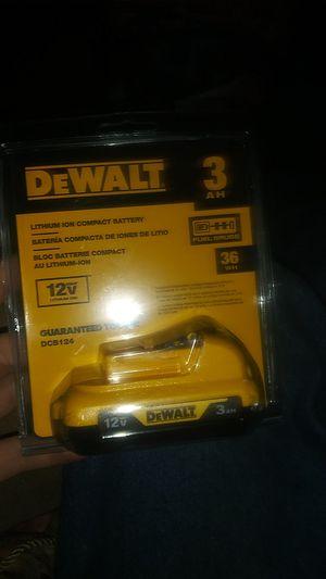 Dewalt 12 v battery for Sale in Gresham, OR