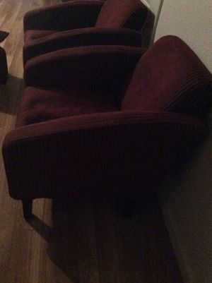 2 chairs with ottoman and stand can use for desk all for $30.00 for Sale in Concord, CA