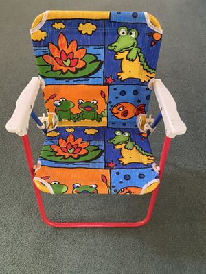 4 New Portable Kids Chair - Frogs, Fish & Crocodile s for Sale in San Diego, CA