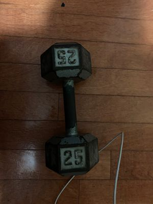25lb dumbbell for Sale in Coronado, CA