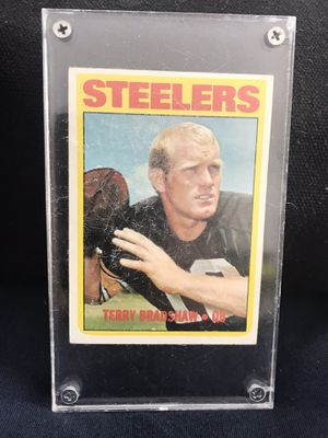 Terry Bradshaw Football Card for Sale in Palmetto Bay, FL
