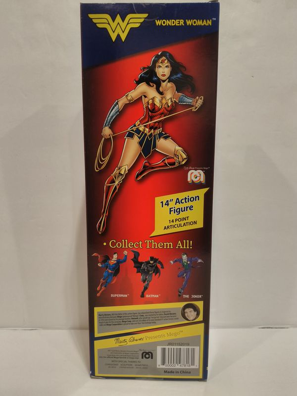 "MEGO Limited Edition Retro DC Hero 14"" Wonder Woman Action Figure"