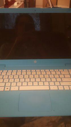 Blue hp laptop for Sale in Prattville,  AL