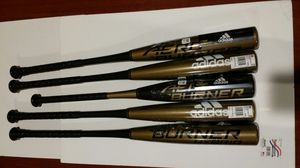 Adidas Baseball bats, Aero burner hybrid bats for Sale in Baldwin Park, CA