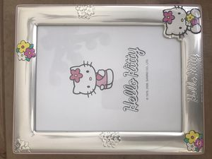 Hello Kitty silver picture frame/mirror for Sale in San Diego, CA