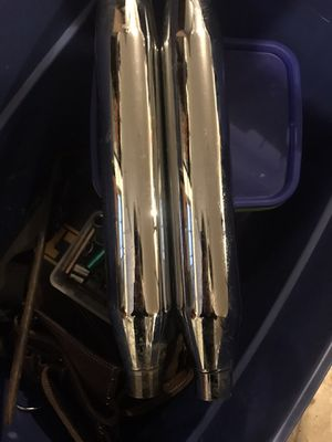 Stock Harley exhaust off a heritage for Sale in West Terre Haute, IN