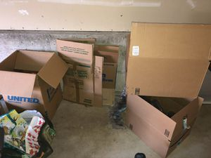 *FREE* Boxes/Packing Supplies for Sale in Kent, WA