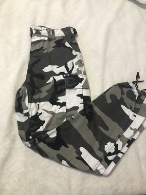 Black, Grey, and White Camo Pants for Sale in Missouri City, TX