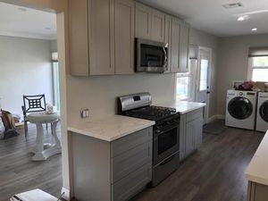 Gray Shaker / Antique White Solid Wood kitchen cabinet for Sale in City of Industry, CA