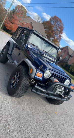 2003 Jeep Wrangler TJ Sport for Sale in Nashville, TN