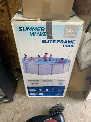 Intex 26373EH Ultra XTR Set Above Ground Pool,42 X 14ft X 42, Gray for Sale in Dallas, TX