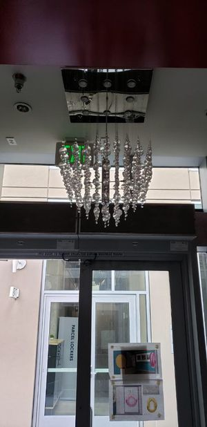 Led crystal chandelier for Sale in Buena Park, CA