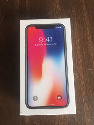 Globally unlocked iPhone X space grey 256gb for Sale in San Francisco, CA