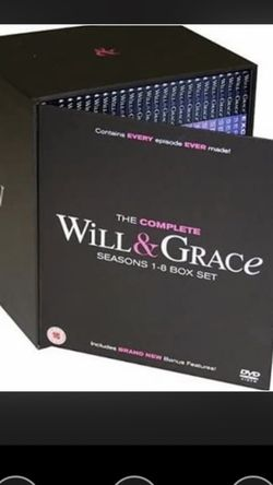 New Will & Grace Complete DVD Box Set for Sale in Tiburon,  CA