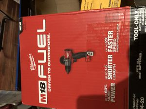 Milwaukee fuel hammer drill asking $90 for Sale in Chicago, IL