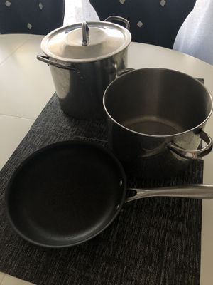 Lot of kitchen cookware Cooking pan and pot for Sale in Alexandria, VA