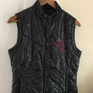 Harley Davidson Women's Black Nylon Vest for Sale in Cedarville, NJ