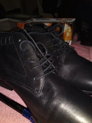 black apple leather boots for Sale in Houston, TX