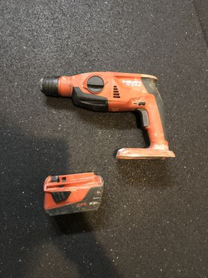 Hilti roto hammer and battery (No charger) for Sale in Shoreline, WA