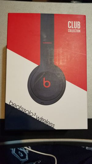 Beats solo 3 Wireless Club Navy Collection On Ear Bluetooth Apple Beats By Dre for Sale in Houston, TX