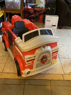 Paw Patrol Drivable fire truck for Sale in Fort Lauderdale,  FL