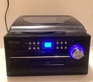 Encore Technology All in 1 Audio Stereo System FM/AM/AUX/Tape Remote Control for Sale in Lake Charles, LA