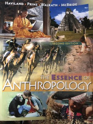 The Essence of Anthropology for Sale in Rolesville, NC