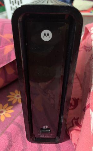Motorola WiFi router modem for Sale in Sunnyvale, CA