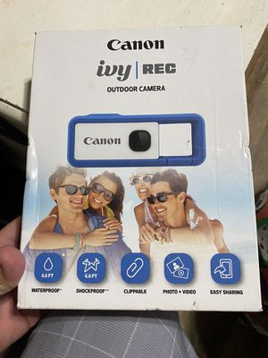 Cannon ivy outdoor camera clip on for Sale in Alameda, CA