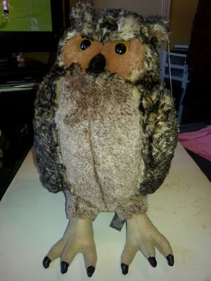 Large plush owl Melissa and Doug NEW stuffed animal for Sale in Rockville, MD