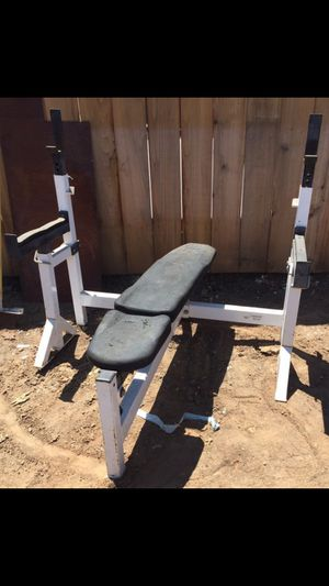 NORTHERN LIGHTS COMMERCIAL WEIGHT BENCH / SQUAT RACK PLUS MORE for Sale in San Diego, CA