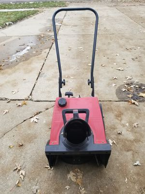 Toro Snowblower Electric Start 16 inch for Sale in Downers Grove, IL