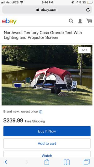 Camping tent for Sale in Tampa, FL