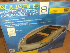 Aquarius hard bottom 860 inflatable bost for Sale in Ellenwood, GA