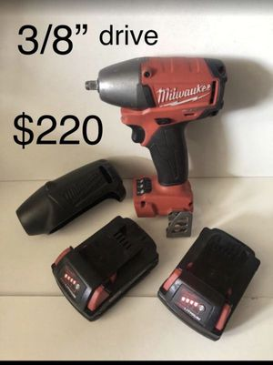 Milwaukee 3/8 impact for Sale in Diamond Bar, CA
