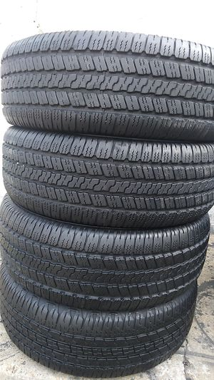 Four Goodyear tires for sale 275/65/18 for Sale in Suitland-Silver Hill, MD