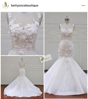 Rent or buy your wedding dress for Sale in Brockton, MA