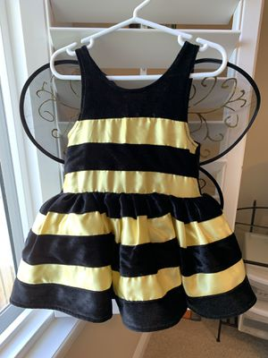 Size 2T girls bumblebee costume for Sale in Tampa, FL