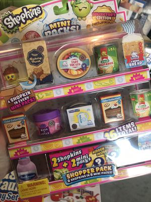 SHOPKINS 🍵🌭🥪 Choose 1 for $12 OR 2 for $20 - RARE mega packs for Sale in Indianapolis, IN