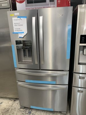 Whirlpool 4 door in stainless steel new open box for Sale in Diamond Bar, CA