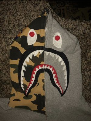 Bape Camo And Grey Hoodie for Sale in West Haven, CT