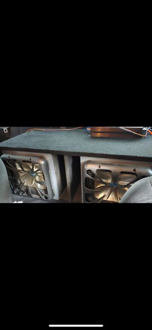 Kickers 10s square subs for Sale in Lake Wales, FL