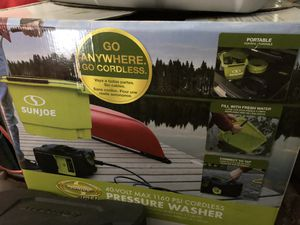 pressure washer cordless 40v battery powered Brand New for Sale in Seattle, WA